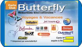 Carte Butterfly