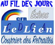 AFJ, Échos CFR – Lien CDCA – Courrier des Retraités